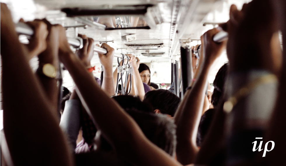 Overcrowding is a major issue in public buses.