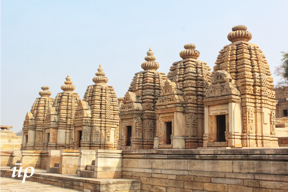 Renovated temples in the Bateswar complex.